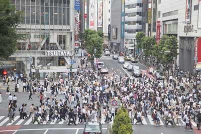 妖怪-東京都-人口集中