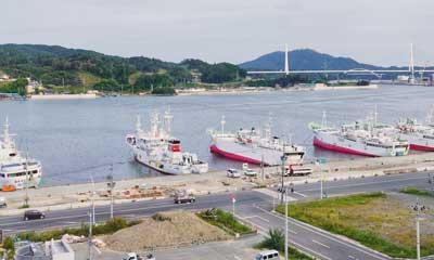 妖怪-宮城県-漁港