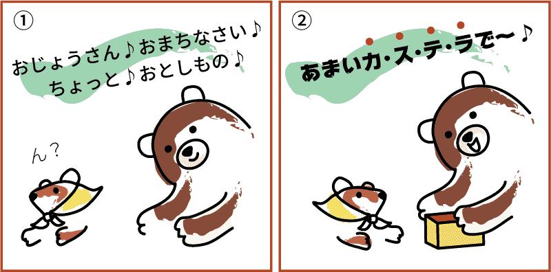 熊本県のカステラ1