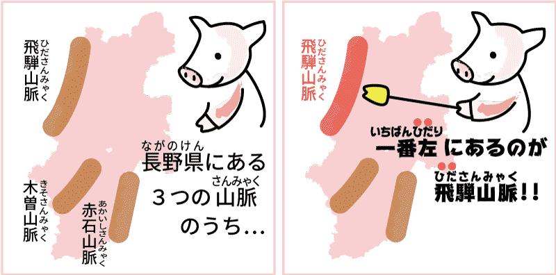 長野県の飛騨山脈