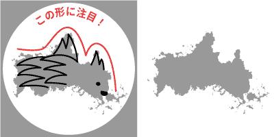 山口県の形