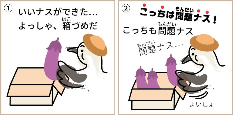 高知県のナス1